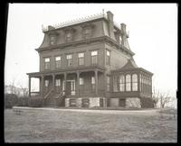 Mansion at Grand Concourse and 162nd Street, Bronx, New York City, undated.