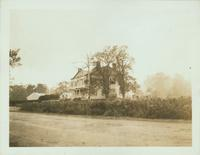 Gravesend: Benjamin J. Hitchings House, 2319 Kings Highway, erected 1812 by Judge Terhune at the northwest corner of Kings Highway and Mansfield Place, 1922. Demolished by November 1928.