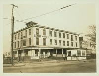 Gravesend: J. Fritz's Hotel (Lewis House, formerly Linderman's Hotel), northeast corner of Emmons Avenue and E. 23 Street, Sheepshead Bay, 1923.