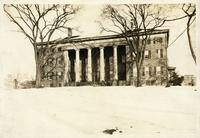 Flushing: Flushing Institute, Amity Street, south side, east of Main Street, January 1923. Built 1827.
