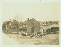 New Utrecht: George Van Brunt House, north side of 85 Street west of 14 Avenue, 1923.