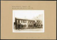 Brooklyn: 296 to 300 Bergen Street, 1922. No. 296 is Captain Sims House; no. 298 built 1845.