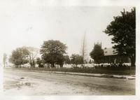 New Utrecht: Dutch churchyard and St. John's Lutheran Church, 84th Street to 85th Street east of 16th Avenue, 1922.