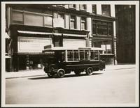 New York City: 255 Fifth Avenue, motor bus, undated.
