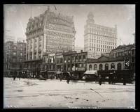 Broadway looking south from 23rd Street to 22nd Street, 1895.