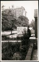 New York City: 'One Family Houses for Sale' sign in unidentified Queens neighborhood, undated.