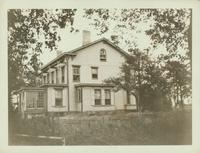 Jamaica: Rear of James Van Siclen House, west side of Lincoln Avenue at about 112th Avenue, about 200 feet from Dakota Avenue (135th Street), 1922.