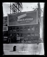 Broadway near 47th Street, New York City, September 27, 1927: Blackstone Cigars.