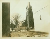 Flushing: St. George's Episcopal Church, west side of Main Street from Church Street (Garden Street) to Locust Street, 1924.