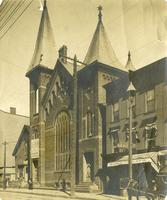 Bushwick: church to be converted to Greenpoint's [unreadable] Theatre, undated.