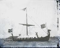 """Viking ship,"" undated."