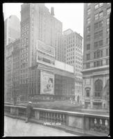 Fifth Avenue and 42nd Street, New York City, February 29, 1928: Tenderloin' (motion picture), 'But Gentlemen Marry Brunettes,' Careful Carpet Cleaning Company, Colgate's Ribbon Dental Cream, Jarrett Type Cleaner [?], Sutton Place Apartments. Also 3 empty