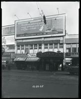 125th Street between Seventh Avenue and Lenox Avenue, New York City, December 28, 1925: Chesterfield Cigarettes, Radiola Radios. Also storefronts of Ideal Shoe Shop, Toby's Men's Shop, Christensen School of Rag and Jazz, Orient Movies, Leight Brothers Out