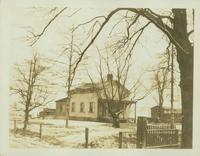 Flatlands: C.B. Kouwenhoven House, east side of Kings Highway, just north of New York Commuting Rail Road, 1923.