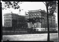 Barnard College, Broadway, west side, 119th - 120th Street, New York City, 1915.