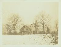 Flushing: Bloodgood House, built 1777, south side of Broadway [i.e. Northern Boulevard] at 15th Street, 1923.