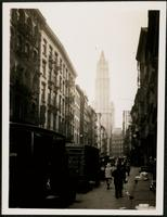 New York City: Beekman Street looking west, undated.