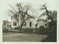 Gravesend: B.W. Kouwenhoven House (right), northwest corner of Neck Road and E. 27 Street; J.H. Kouwenhoven House (left); 1922.