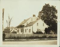 Flatbush: Adrian Martense House, 21 Chester Avenue, northwest corner of Church Avenue and Chester Avenue near E. 35th Street, rear view, 1922.