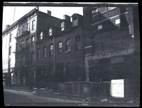 Lower East Side: [brick rowhouses at 1-3 E. 3rd Street, just east of Bowery], undated [1924].