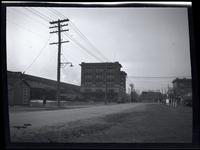 Jamaica: Long Island Rail Road depot, southwest corner of Sutphin Boulevard and Archer Place [i.e. Archer Avenue?], 1922. Built on the old Kissam farm.