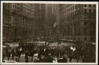 New York City: welcome parade at Bowling Green, 1926.