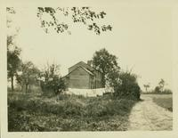 Flatlands: Moore House, south side of Mill Lane (north branch) in the vicinity of E. 56th Street, 1923.