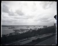 Hudson River, looking north from 77th Street, New York City, 1912.
