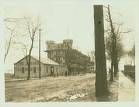New Utrecht: Fort Lowry [Hotel] on Gravesend Bay, at the foot of 17 Avenue, 1923. Eastablished 1878.