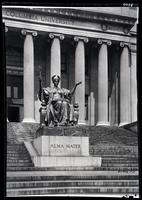 Alma Mater statue, Columbia University, New York City, 1915.