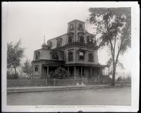 Boss Tweed's country house, Fort Washington Avenue, New York City, undated. Copy photograph.