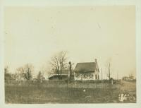 Gravesend: Bernardus Ryder / Elias Hubbard Ryder House, north view, east side of Ryder Avenue (formerly Ryder's Lane) in the vicinity of E. 29 Street, 2 blocks north of Avenue S, 1922.