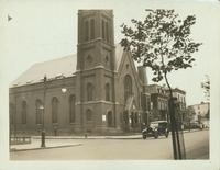 Brooklyn: Christ's Church (Episcopal), 475-479 Bedford Avenue, northside, east of Morton Street, 1923 or 1924.
