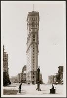 New York City: Broadway looking south, showing the New York Times Building, 1907.