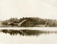 Richmond County: view of lake near the Richmond Ice Company Stables, August 14, 1897. (Crystal Lake, or Schoenian's Pond; Schoenian's Ice House, burnt down 1910.)