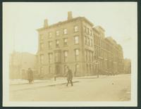 Brooklyn: Dr. French [?], southwest corner Clinton and Joralemon Street, 1923.