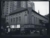East Village: William Fox Academy of Music on E. 14th Street, undated.