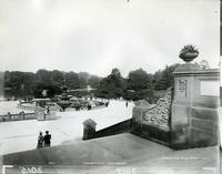 Bethesda Fountain, Terrace, and Lake, Central Park, New York City, 1894.