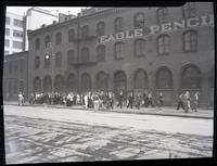 Eagle Pencil Company strike, 724 East 14th Street, June-July 1938.
