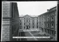 Avery, Schermerhorn, and Fayerweather Halls, Columbia University, New York City, 1915.