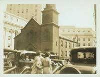 Lower Manhattan: St. Anthony's Catholic Church, City Hall Place, 1935.