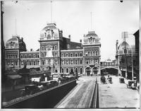 Manhattan: Grand Central Terminal, undated (ca. 1896). View from 41st Street and Park Avenue, looking north.