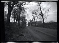 Long Island City: [Old Bowery Road, looking east from about 11th Avenue, 1923. At left is the site of the Samuel H. Moore House.]
