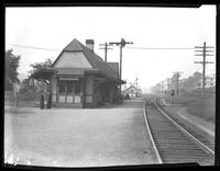 American Railway Express Nepperhan Station, Yonkers, New York, September 28, 1919. Photographed for Joseph P. Day.