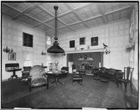 Bayshore, New York: living/drawing room, Sagtikos Manor House, undated.