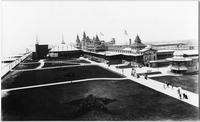 Brooklyn: Manhattan Beach Hotel and Dance Pavilion, viewed from the east, undated.