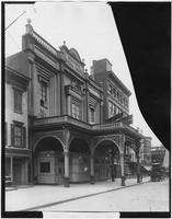 Manhattan: Grand Opera House, undated. From a broken negative.