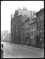 108 to 118 Waverly Place, New York City, undated. [Photographed for?] R.H. Davies, Bayard, Taylor & R. Henry Stoddard.