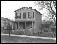 Cottage in Sheepshead Bay, Brooklyn, April 1, 195. Photographed for Joseph P. Day.