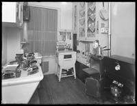 Kitchen of a model apartment, New York City, May 6, 1915. Photographed for the United Electric Light & Power Company.